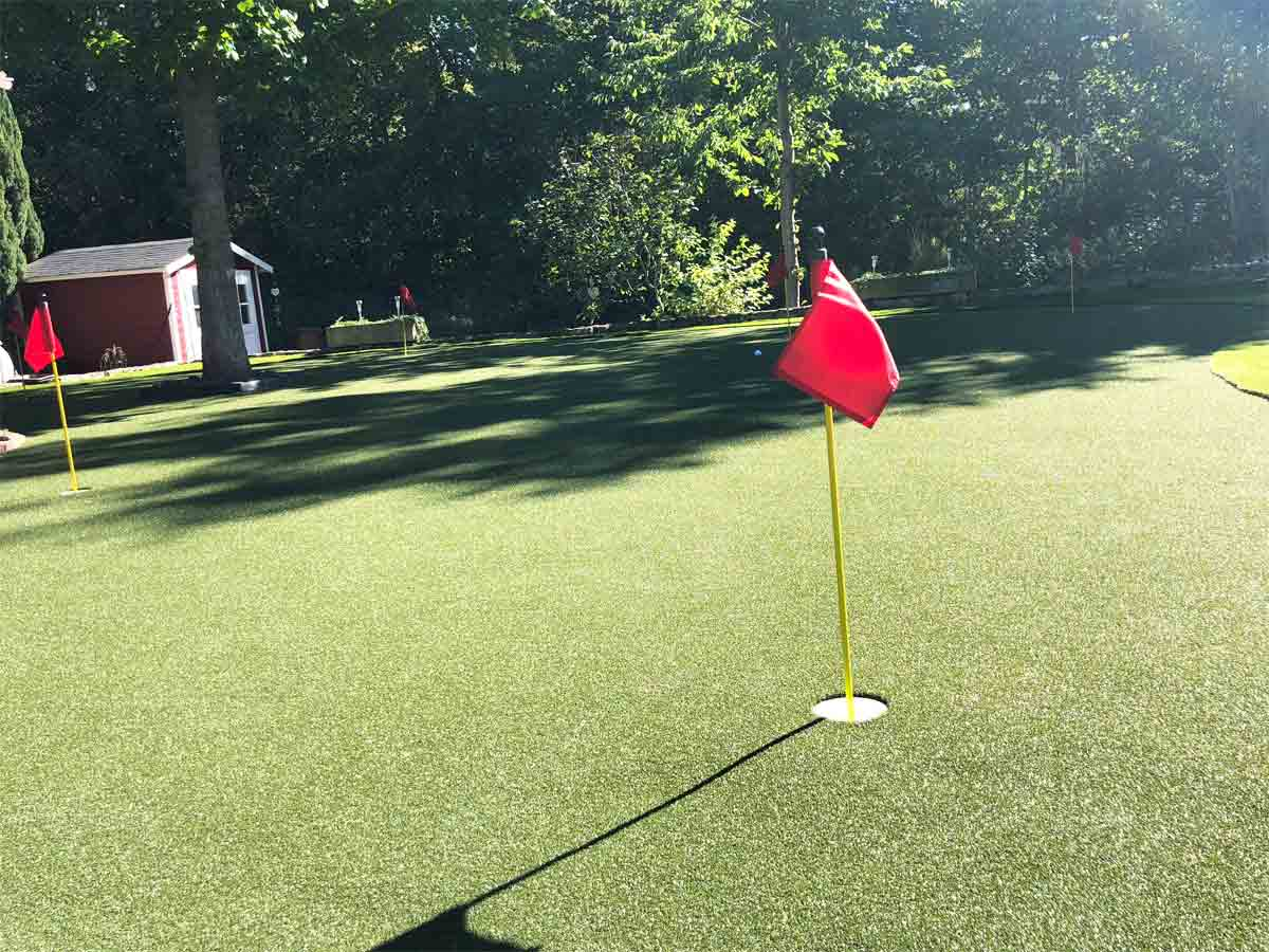 kunstrasen putting green h2