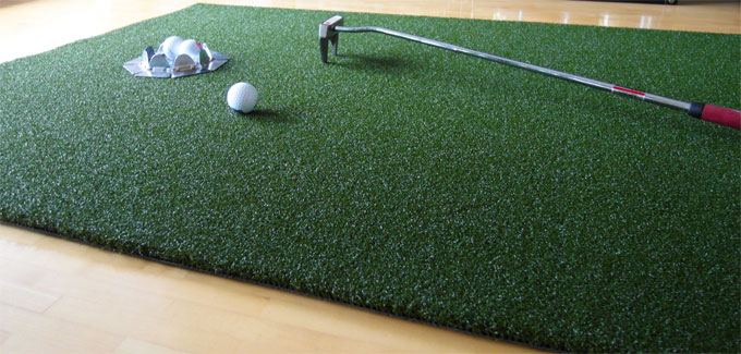 Mobiles Putting Green