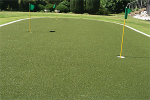 kunstrasen putting-green