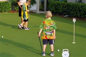 putting green kinder
