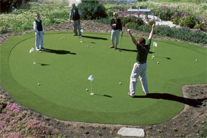 putting green familie